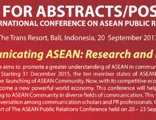 ASEAN PR Conference – Call for Abstract