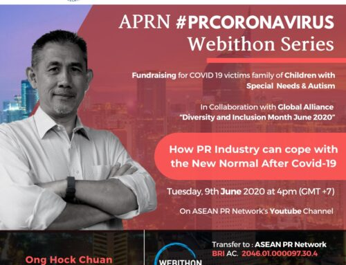APRN #PRCORONAVIRUS Webithon Series 2nd Episode: How PR Industry Can Cope With The New Normal After Covid-19