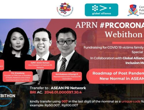 #PRCORONAVIRUS: Roadmap of Post Pandemic and  The New Normal in ASEAN Region | 2nd Live Webithon