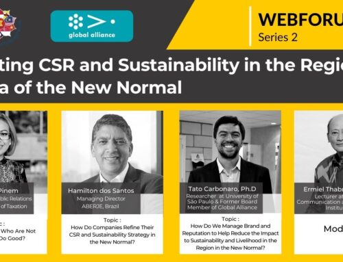 APRN WEBFORUM : Revisiting CSR & Sustainability in the Region in the Era of New Normal | 2nd Series