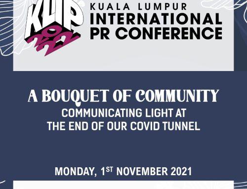 Kuala Lumpur International PR Conference (KLIP) 2022 is on board!
