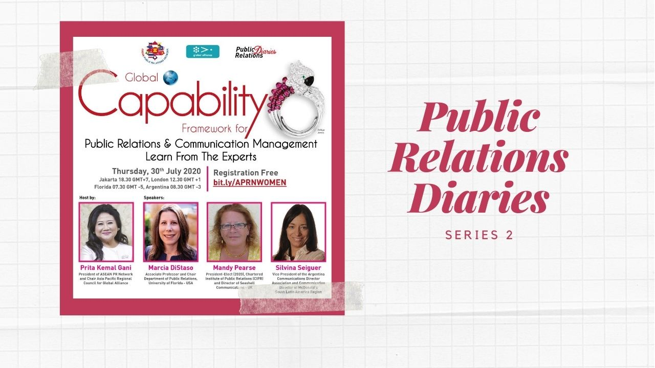 Public Relations Diaries: Global Capability Framework for PR & Communication Management | 2nd Series