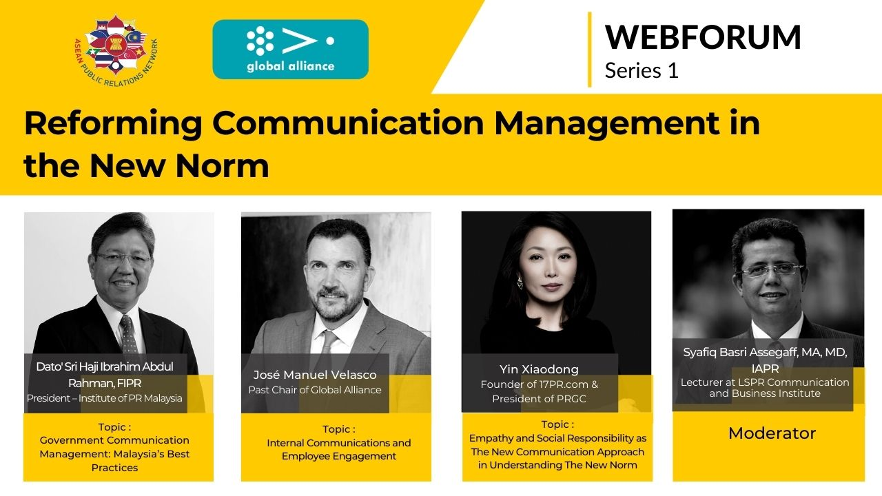 APRN WEBFORUM : Reforming Communication Management in The New Form | 1st Series