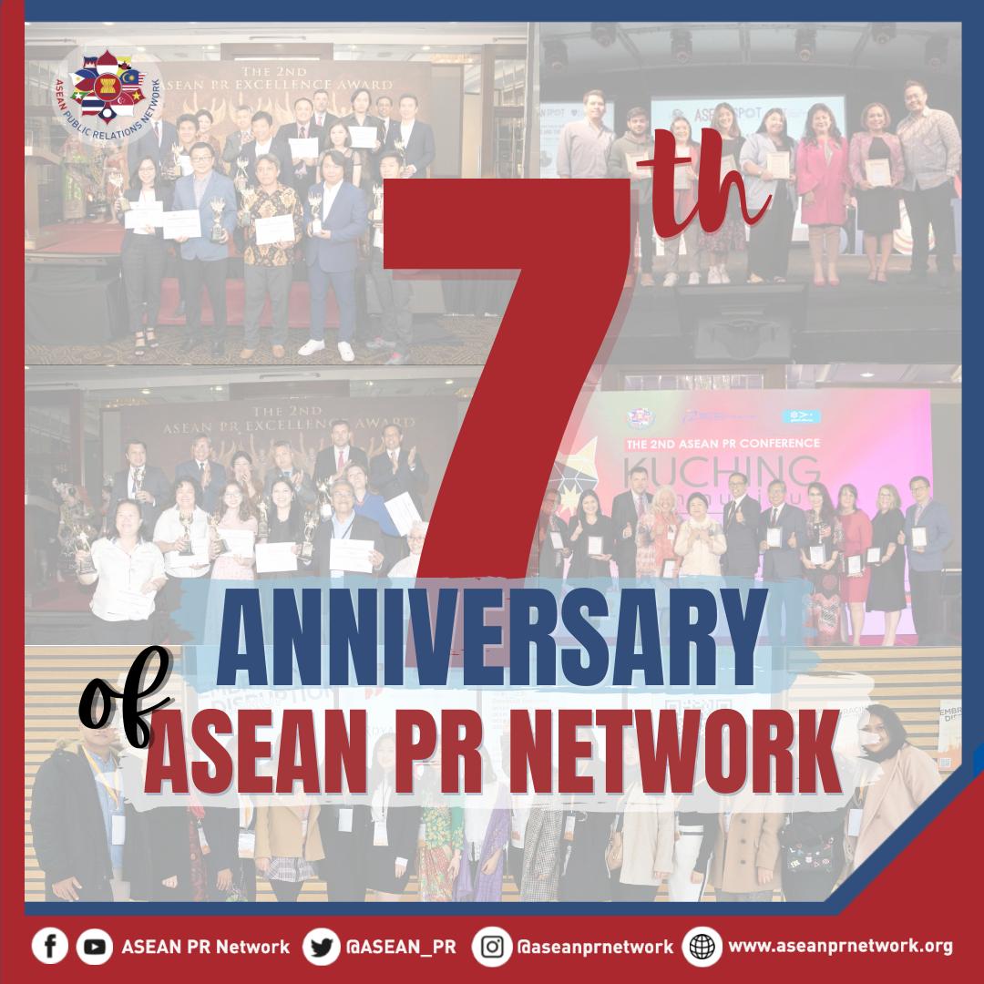 Happy 7th Anniversary ASEAN PR Network
