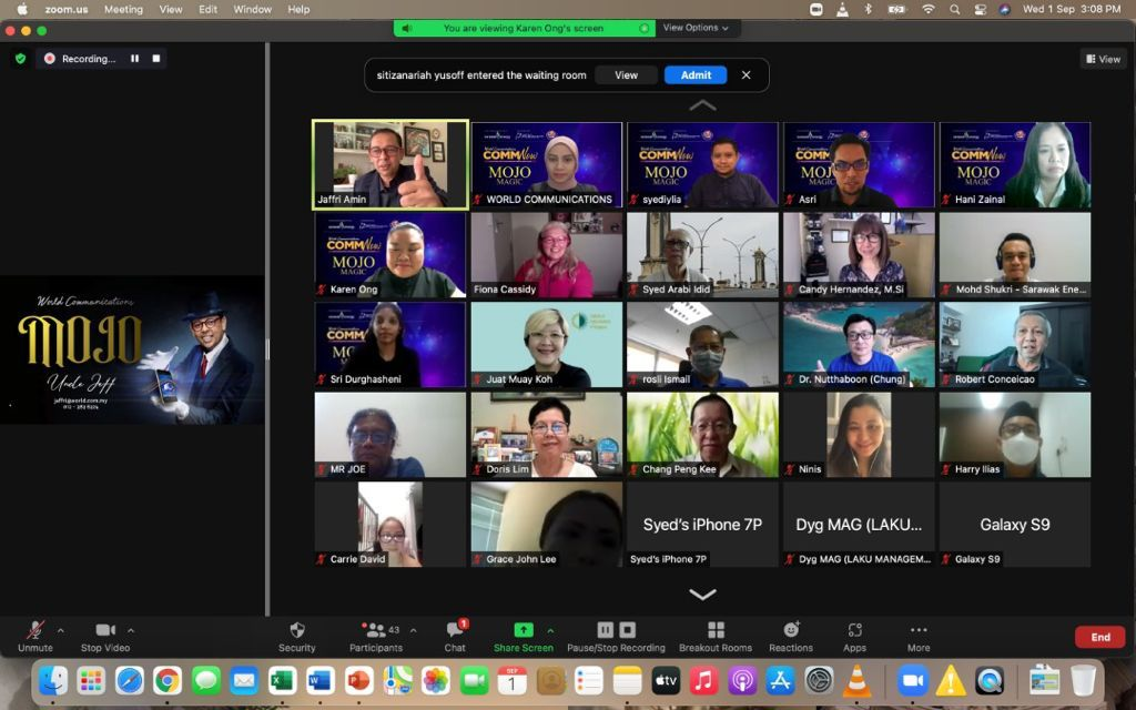 [September Edition] World Communication Comm NOW Talk: Mojo or Mobile Journalism