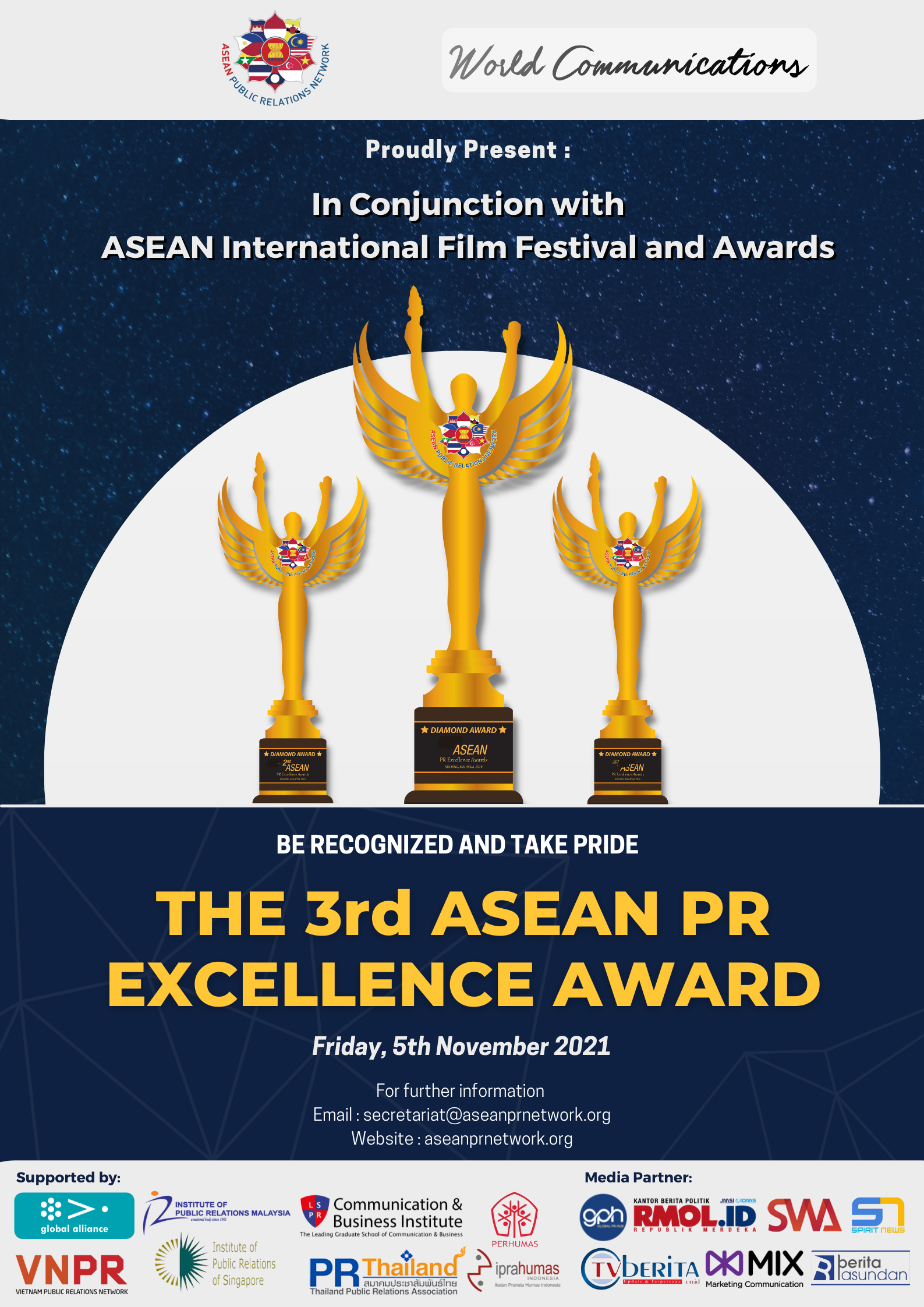 Get Ready for The 3rd ASEAN PR Excellence Awards 2021!